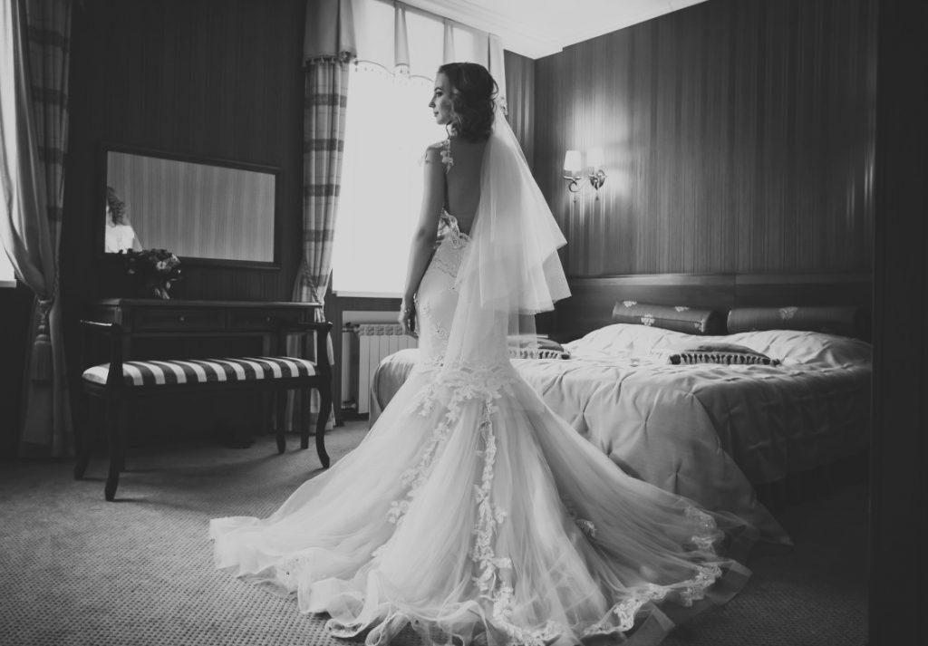Hochzeitskleider im Meerjungfrauen-Stil. Romantisch und feminin. (#9)