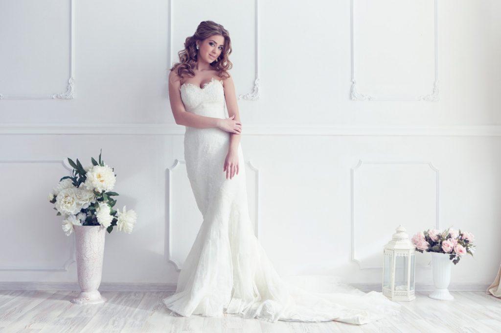 Hochzeitskleider im Mermaid Stil: Eine schmale Silhouette verwandelt die Braut in eine Meerjungfrau. (#4)