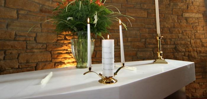 hochzeitskerze selber machen individuelles wedding geschenk. Black Bedroom Furniture Sets. Home Design Ideas