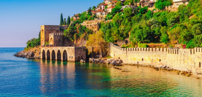Das Glückshotel in der Türkei: In Alanya buchen frisch getraute Paare für die Flitterwochen.. (#1)