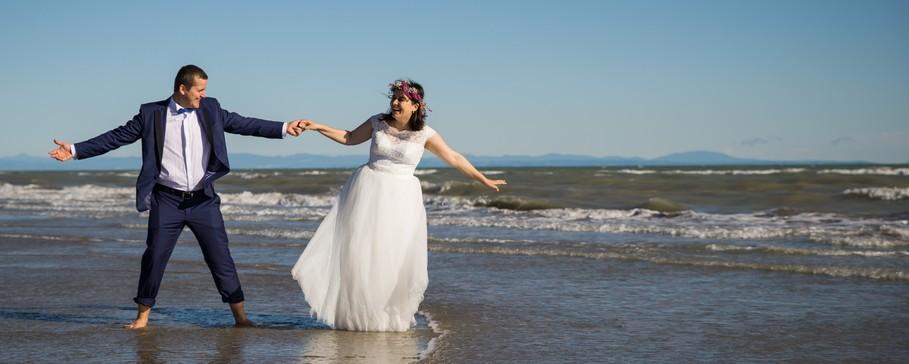 """""""Trash-the-Dress"""" an der Adriatic-Küste. (#4)"""