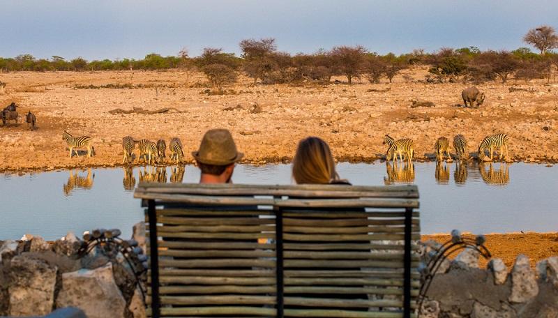 Namibia begeistert seine Gäste mit einer unvorstellbaren Weite, roter Wüste und wunderschönen Nationalparks, wo die Artenvielfalt geschützt und bewahrt wird.