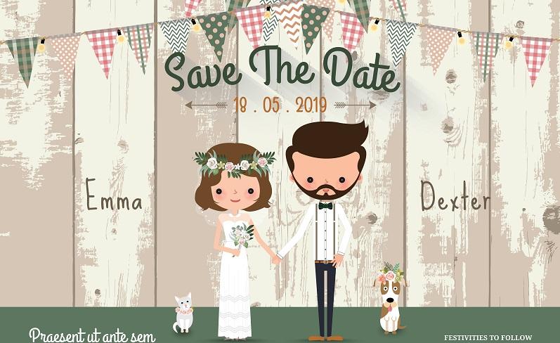 Da Einladungskarten zur Hochzeit zwischen sechs und acht Monaten vor dem Fest verschickt werden, sollten die STD Karten rund acht bis zehn Monate vor der Hochzeit ihren Empfänger erreichen. (Foto: Shutterstock- _EE SPACE )